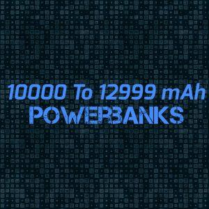 10000 To 12999 mAh