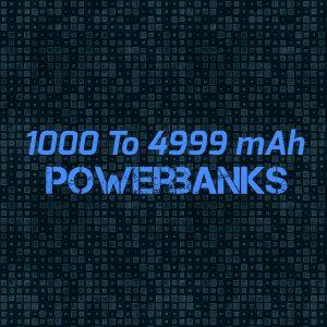 1000 T0 4999 mAh