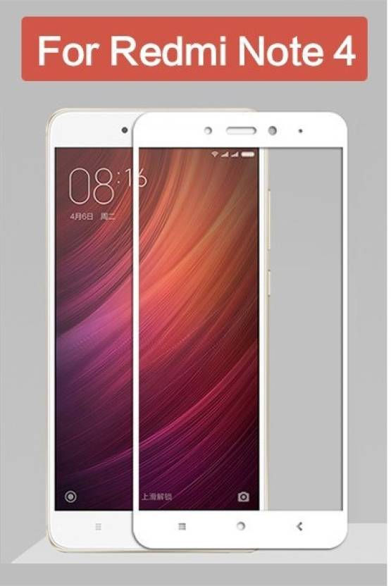 Edge To Edge Color Tempered Glass For Mi Note 4 Black