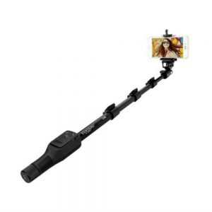 Yunteng YT 1288 Bluetooth Selfie Stick  (Black, with Remote)