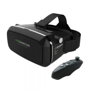 Shinecon VR Box with Bluetooth Remote