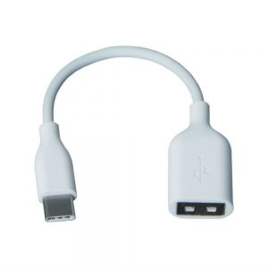 Type C OTG Cable Black/White (High Quality)