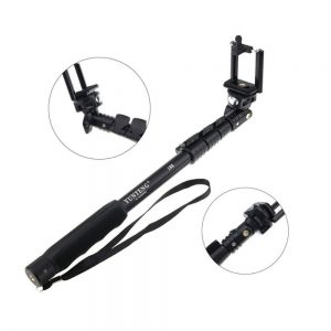 Yunteng YT 188 Selfie Stick (Black, without Remote)