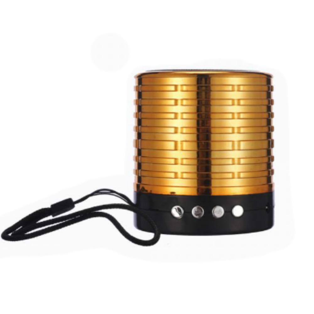 WS-889 Mini Speaker Metal (5 Colour) FM/AUX/BLUETOOTH/SD CARD/USB