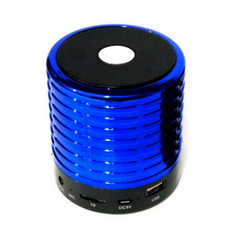 WS-889 Mini Speaker Metal (5 Colour) FM/AUX/BLUETOOTH/SD CARD/USB 6 Months  Warranty + Free Shipping
