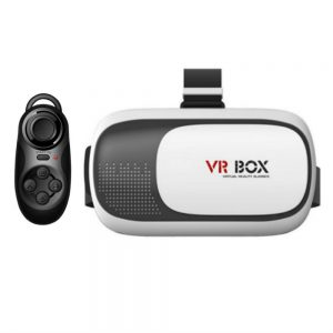 VR Box 2.0 with VR Joystick (Bluetooth Remote)